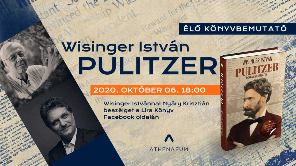 Wisinger István - Pulitzer könyvbemutató